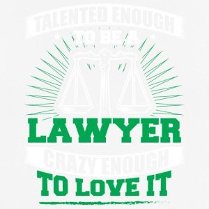 TALENTED lawyer - Men's Breathable T-Shirt