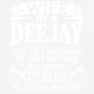 DJ WIFE Deejay - Men's Breathable T-Shirt
