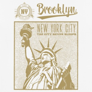 New York · Brooklyn - Pustende T-skjorte for menn