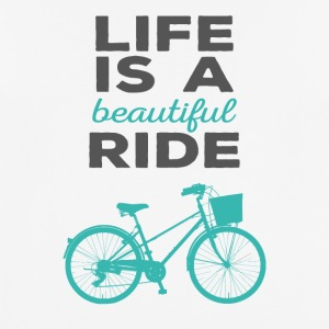Bicycle: Life is a beautiful ride - Men's Breathable T-Shirt