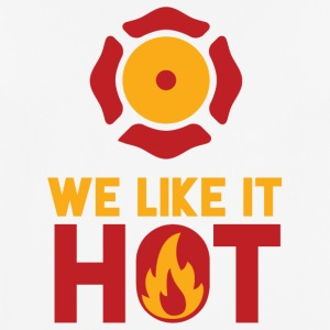 Fire Department: We Like It Hot - Men's Breathable T-Shirt