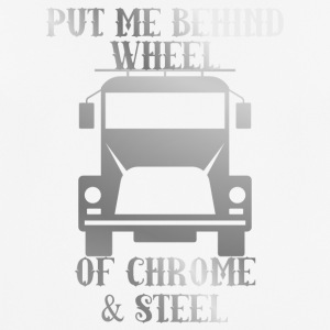 Trucker / lastbilchauffør: Put Me Bag Wheel Of Chrome - Herre T-shirt svedtransporterende