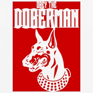 Hond / Doberman: Obey The Doberman - mannen T-shirt ademend