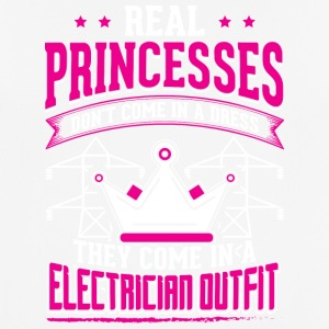 REAL PRINCESSES electrician - Men's Breathable T-Shirt