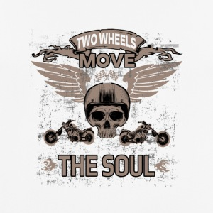 TWO WHEELS MOVE THE SOUL! - Men's Breathable T-Shirt