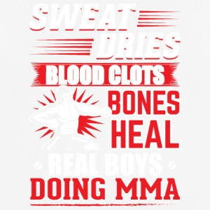 MMA SWEAT DRIES REAL BOYS DOING MMA - Men's Breathable T-Shirt