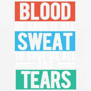 Blood, Sweat and Tears Christian - Andningsaktiv T-shirt herr