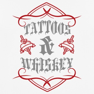 Tattoo / Tattoos: Tattoos & Whiskey - Men's Breathable T-Shirt