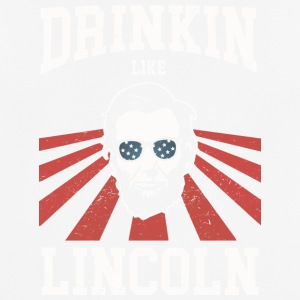 Drinking Like Lincoln - Männer T-Shirt atmungsaktiv