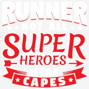 PAS TOUS SUPER HEROES PORTER CAPES - RUNNER - T-shirt respirant Homme