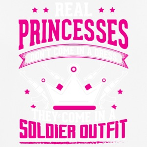 REAL PRINCESSES soldier - Men's Breathable T-Shirt