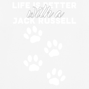 Dog / Jack Russell: Life Is Better With A Jack - Men's Breathable T-Shirt
