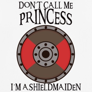 Vikings: Do not Call Me Princess. Jeg er en Shieldmaid - Pustende T-skjorte for menn