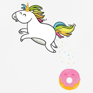 Donut - Unicorn - Pustende T-skjorte for menn