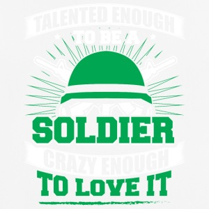 TALENTED soldier - Men's Breathable T-Shirt