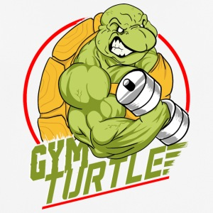 Gym Turtle Gym Design - Camiseta hombre transpirable