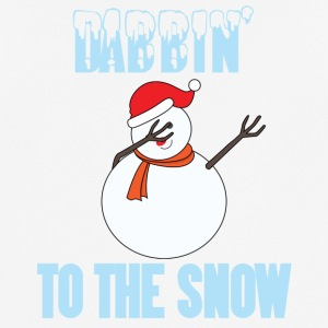 Christmas: Dabbin' To The Snow - Men's Breathable T-Shirt