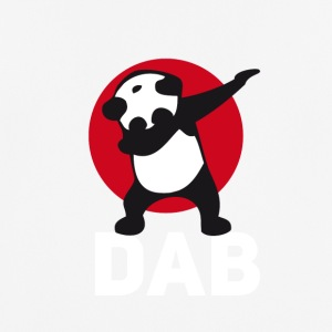 dab panda tamponnant touché juste tamponner le football r - T-shirt respirant Homme