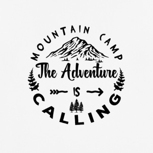 Mountain Camp The Adventure is Calling - Männer T-Shirt atmungsaktiv
