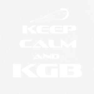 Kitesurfing - Keep Calm and KGB - Pustende T-skjorte for menn