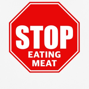 Stop eating meat - Men's Breathable T-Shirt
