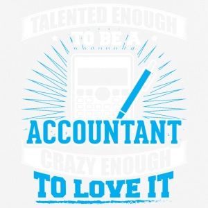 TALENTED accountant - Men's Breathable T-Shirt
