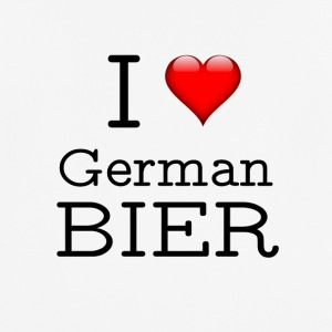 I Love German Beer - Men's Breathable T-Shirt