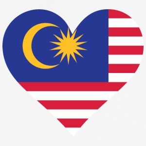 A Heart For Malaysia - Men's Breathable T-Shirt