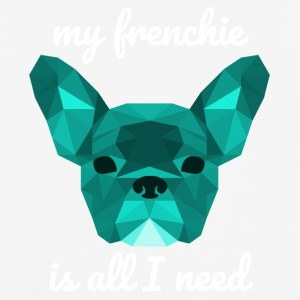 cyan faible Poly Frenchie - T-shirt respirant Homme