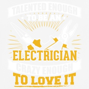 TALENTED Electrician - Men's Breathable T-Shirt