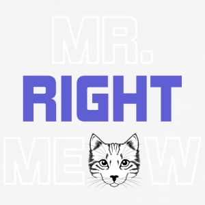 MR RIGHT MEOW - Herre T-shirt svedtransporterende
