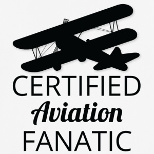 Pilot: Certified Aviation Fanatic. - mannen T-shirt ademend