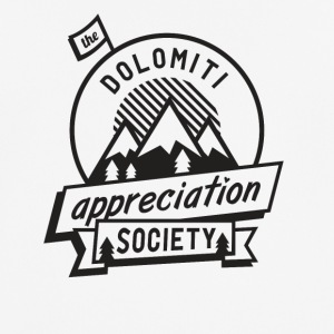 Dolomitt Appreciation Society - Pustende T-skjorte for menn