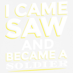 I CAME SAW AND BECAME A SOLDIER - Männer T-Shirt atmungsaktiv