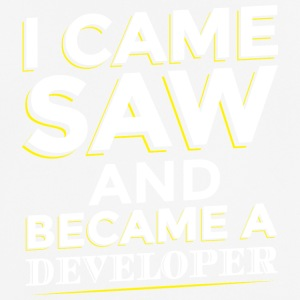 I CAME SAW AND BECAME A DEVELOPER - Men's Breathable T-Shirt