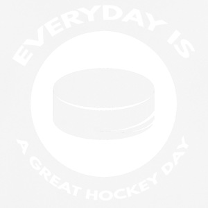 Hockey: Everyday is a great day hockey - Men's Breathable T-Shirt