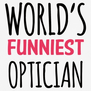 Optiker: World´s Funniest Optician - Männer T-Shirt atmungsaktiv