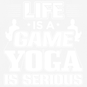YOGA LIFE IS A GAME - Männer T-Shirt atmungsaktiv