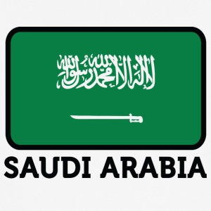 National Flag Of Saudi Arabia - Herre T-shirt svedtransporterende
