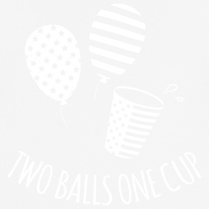 Two Balls One Cup - Men's Breathable T-Shirt