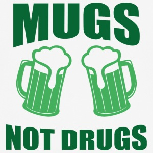 Ireland / St. Patrick's Day: Mugs, Not Drugs - Men's Breathable T-Shirt