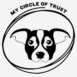 Dog / Jack Russell: My Circle Of förtroende - Andningsaktiv T-shirt herr