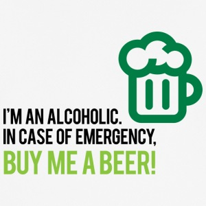I'm An Alcoholic. For Emergencies I Have Beer! - Men's Breathable T-Shirt