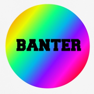 Liten Rainbow Banter Badge - Pustende T-skjorte for menn