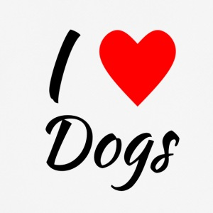 I love Dogs - Men's Breathable T-Shirt