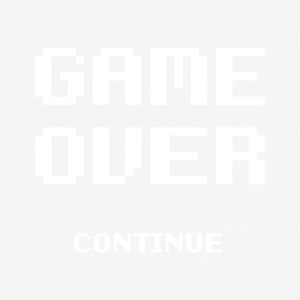 Game Over - mannen T-shirt ademend