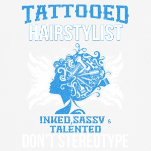 TATTOOED HAIRSTYLIST - Men's Breathable T-Shirt