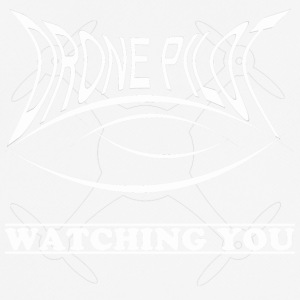 Drone piloot Watching you - mannen T-shirt ademend