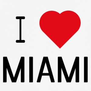 I Love Miami - Pustende T-skjorte for menn