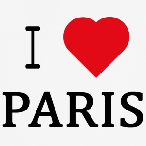 I Love Paris - mannen T-shirt ademend